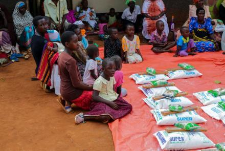 Highlights from the Food Distribution in Mende Community